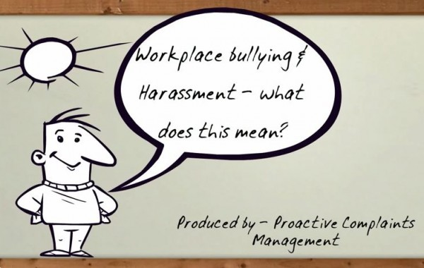 Workplace bullying what is it?